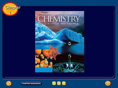 Chapter 1 Chapter 1 Chemistry is the science that investigates and explains the relationship between structure and properties of matter. Chemistry and.