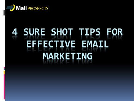Whether you wish to promote your business through email newsletters, a special individual offer or an invitation, an email marketing helps in connecting.