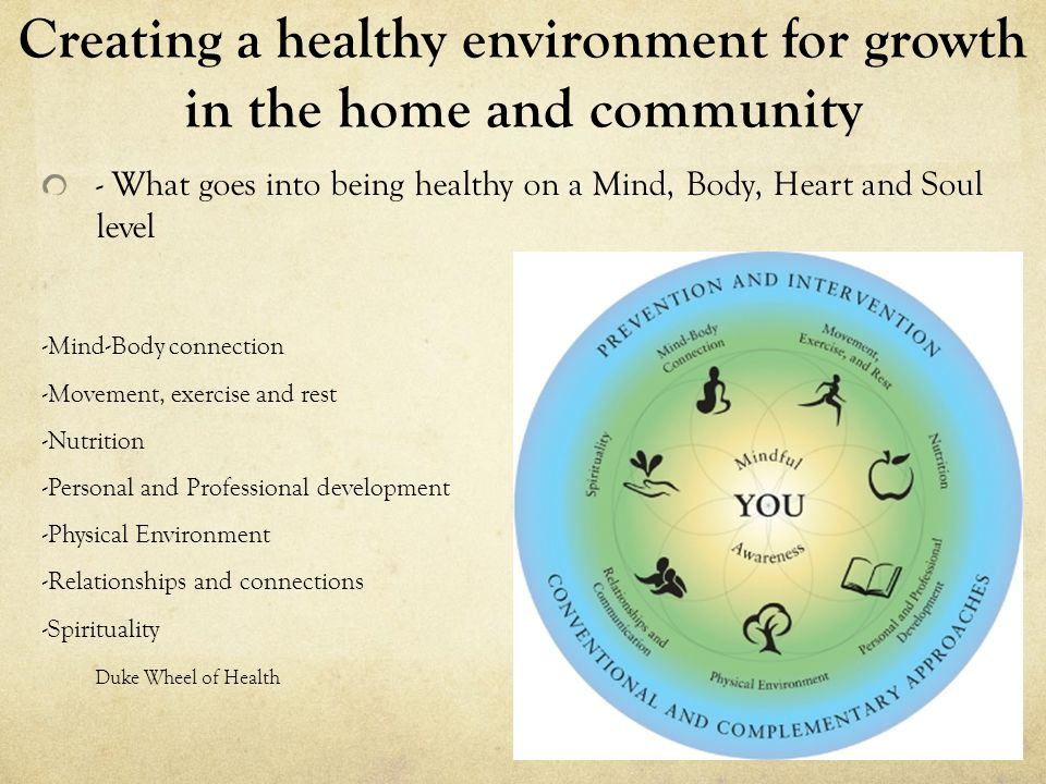 Creating a healthy environment for growth in the home and community -Setting personal boundaries -Does the word homework still make you cringe -Practicing what we preach, self-care