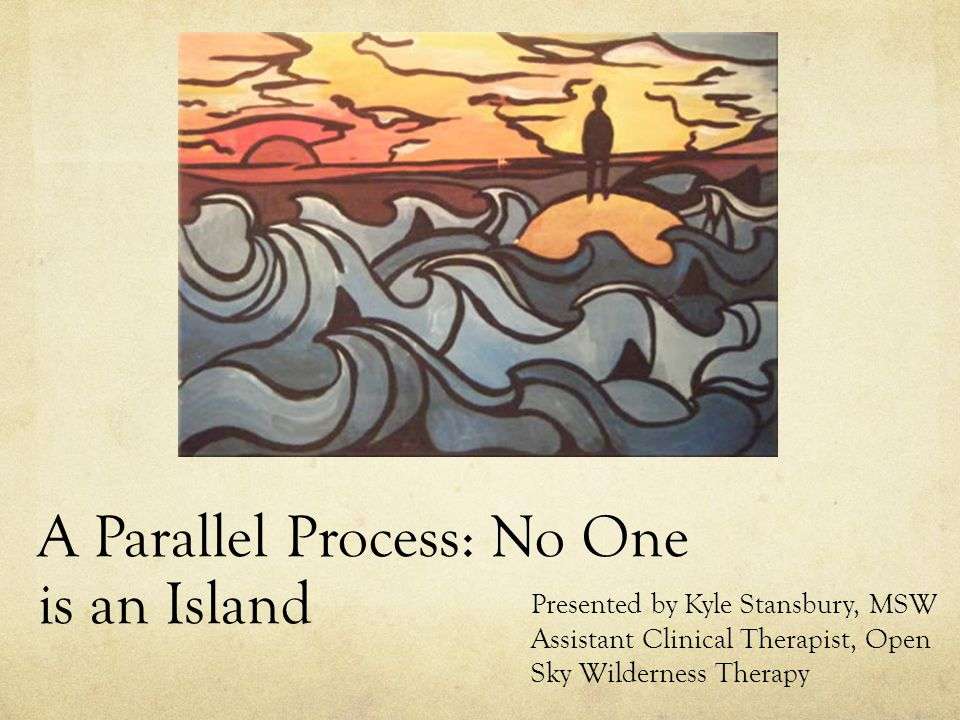 Intro page/Agenda Part I: Family Systems: No One is an Island Part II: What does it say about you that your child needs help: Part III: Creating a healthy environment for growth in the home and community Part IV: Bringing it home: Your Parallel Process