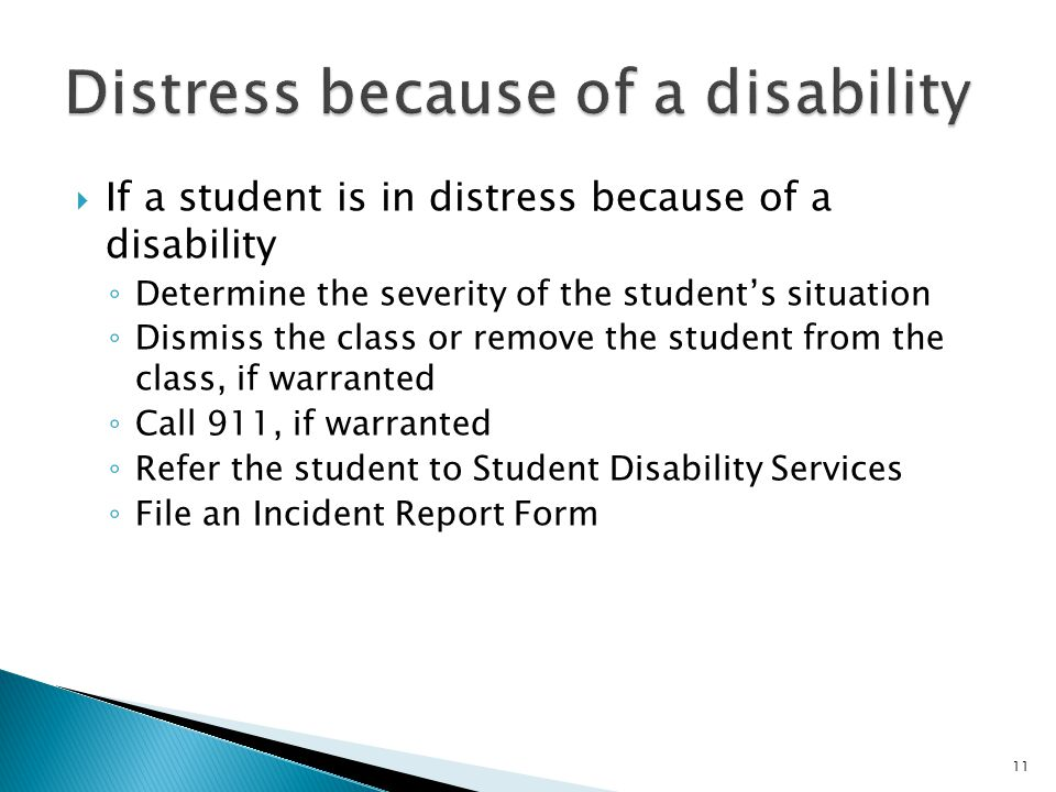 12  1 st Incident: Speak to the student in private and inform the student of progressive disciplinary action.