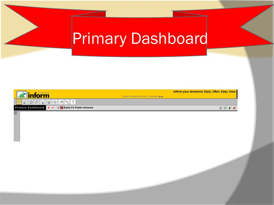 Primary Dashboard Cont.