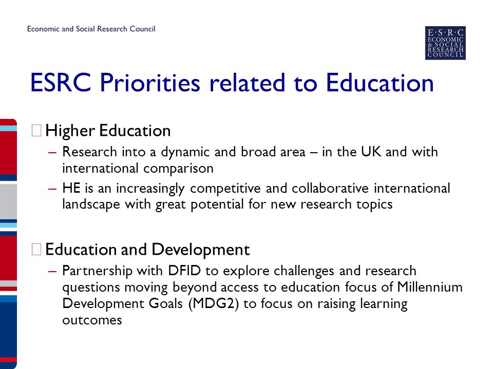 Higher Education landscape – dynamic and worthy of New Research.