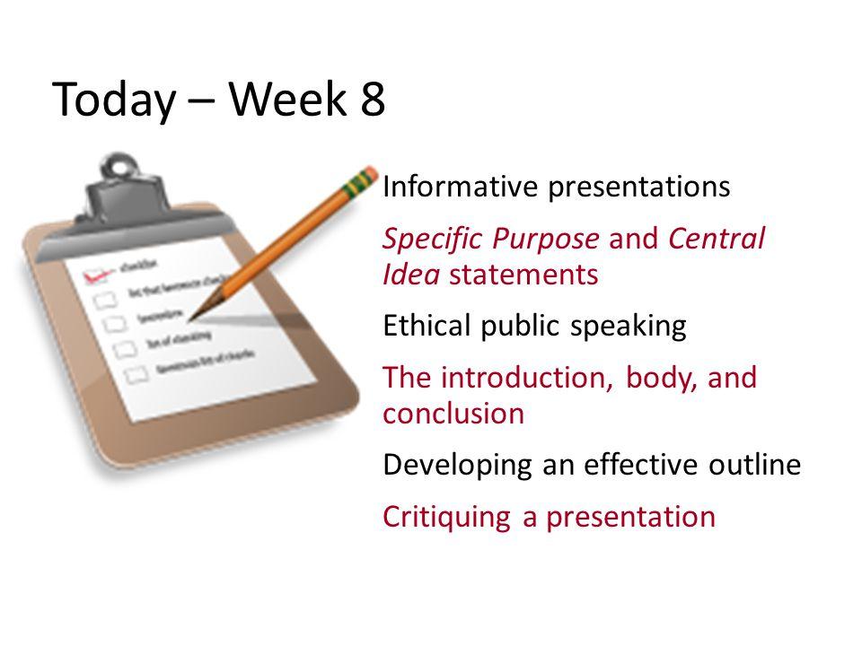 Public Speaking Basics