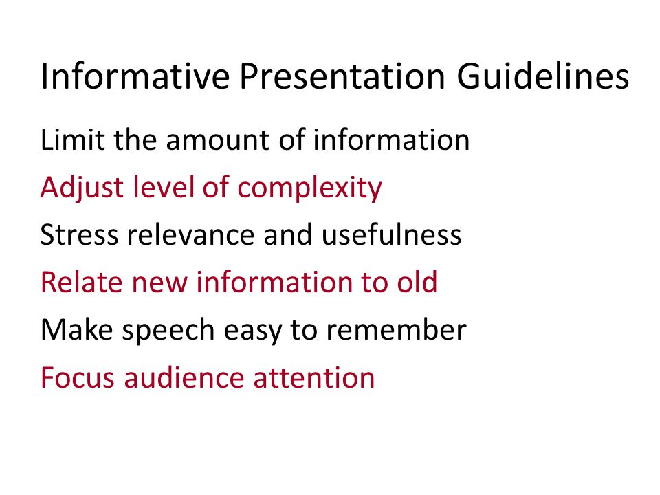 Selecting Topic & Purpose Guidelines for your speech proposals and outlines...