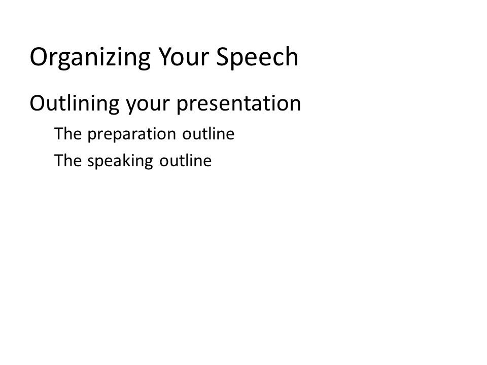Informative Presentation Guidelines Limit the amount of information Adjust level of complexity Stress relevance and usefulness Relate new information to old Make speech easy to remember Focus audience attention