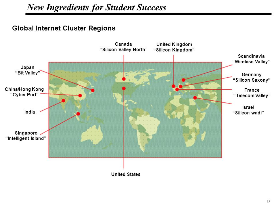 14 108319_Macros New Ingredients for Student Success Silicon Valley, 2000 40% of workforce in 7 high-tech clusters