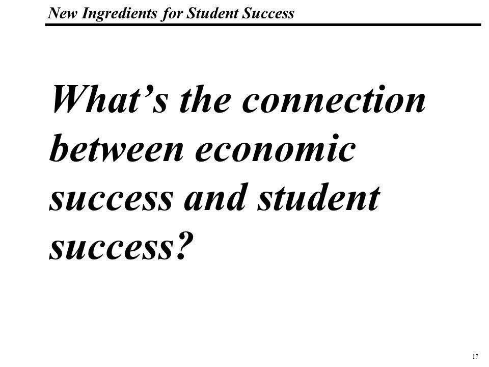 18 108319_Macros New Ingredients for Student Success Workforce Gap What Workforce Gap? The