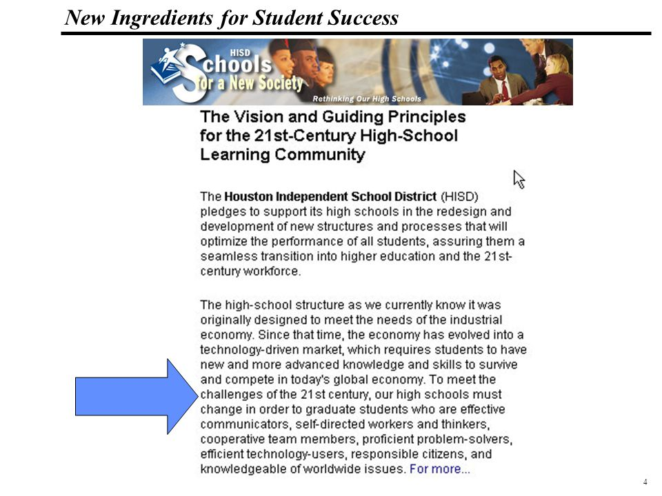 5 108319_Macros New Ingredients for Student Success Inaugurated October 1, 2002
