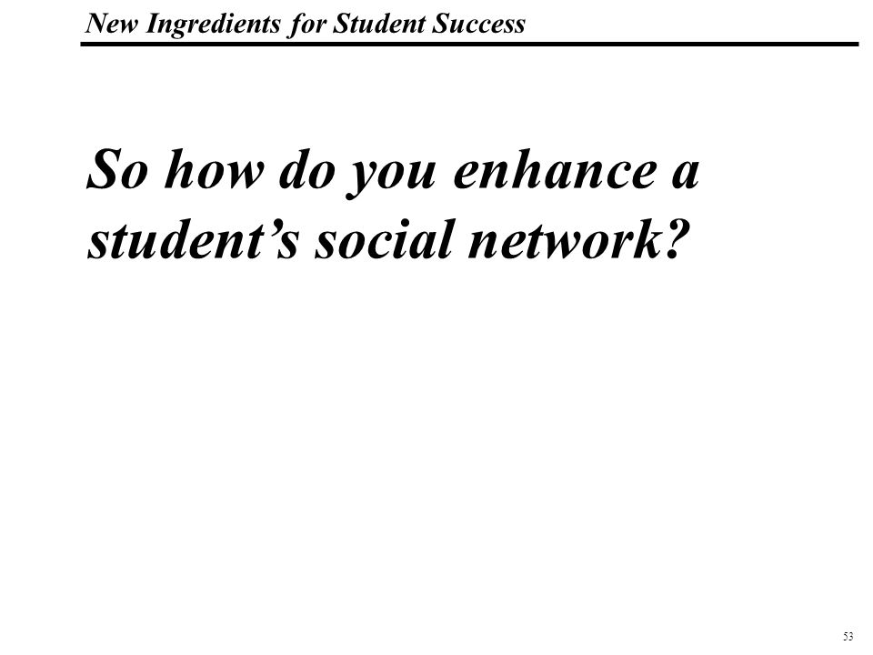 54 108319_Macros New Ingredients for Student Success The Teenage Ghetto – in school and on-the-job