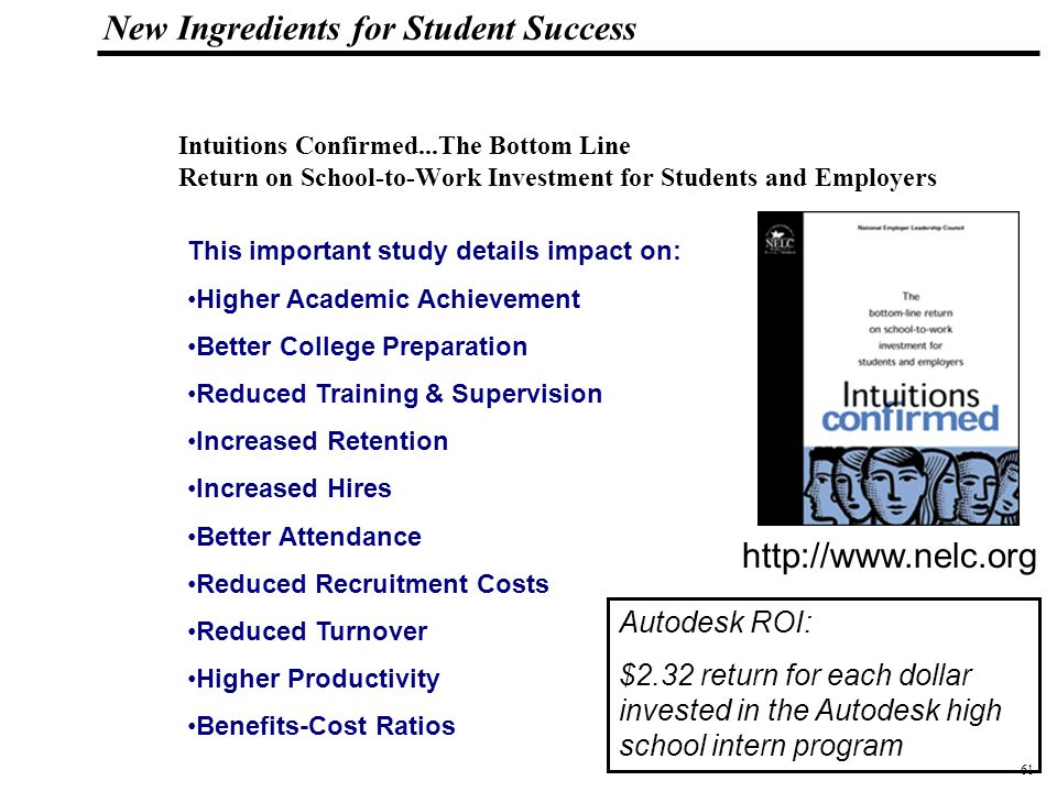 62 108319_Macros New Ingredients for Student Success Mentoring can also play a key role.
