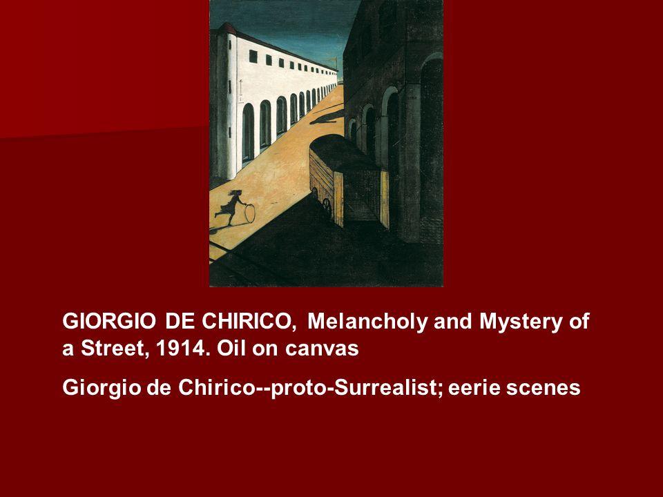 GIORGIO DE CHIRICO The Song of Love, 1914