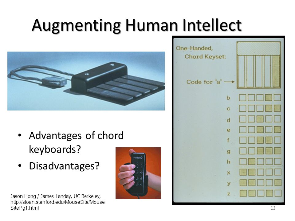 Augmenting Human Intellect At SRI in the 1960s we did some experimenting with a foot mouse.