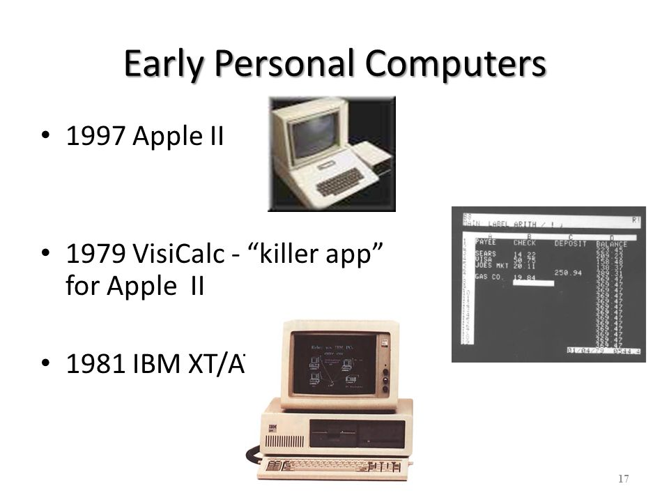 18 The dawn of the PC & GUI The dawn of the PC & GUI Xerox PARC Palo Alto Research Center (PARC) Established 1970 – Bob Taylor heads CSL - Computer Systems Lab Goal: The Paperless Office – Are we there yet.