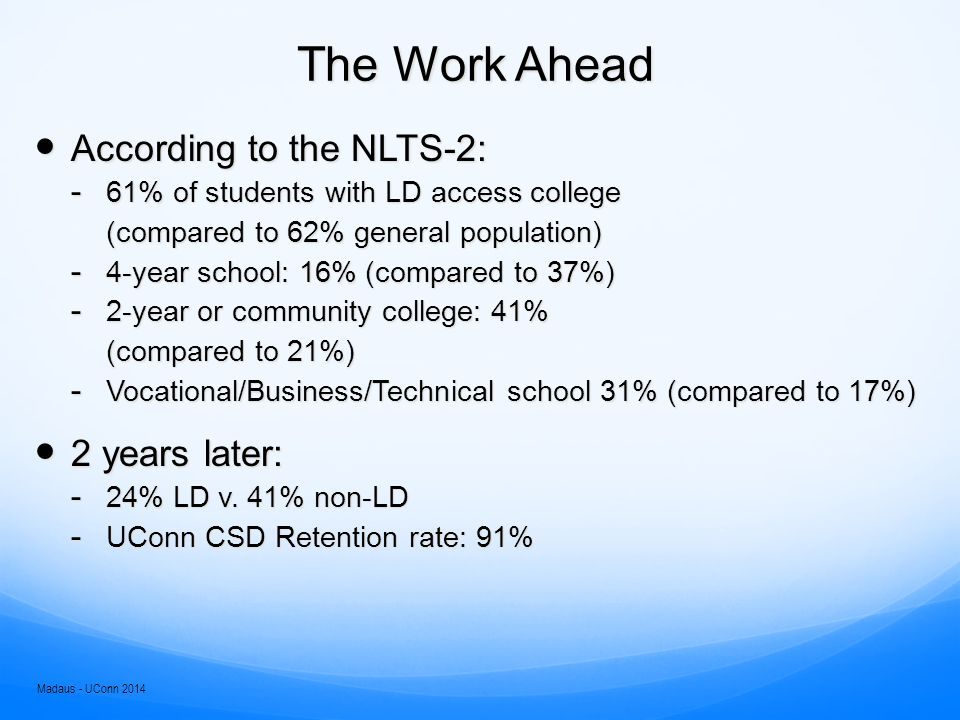 The Work Ahead What are the top reasons for not completing college.