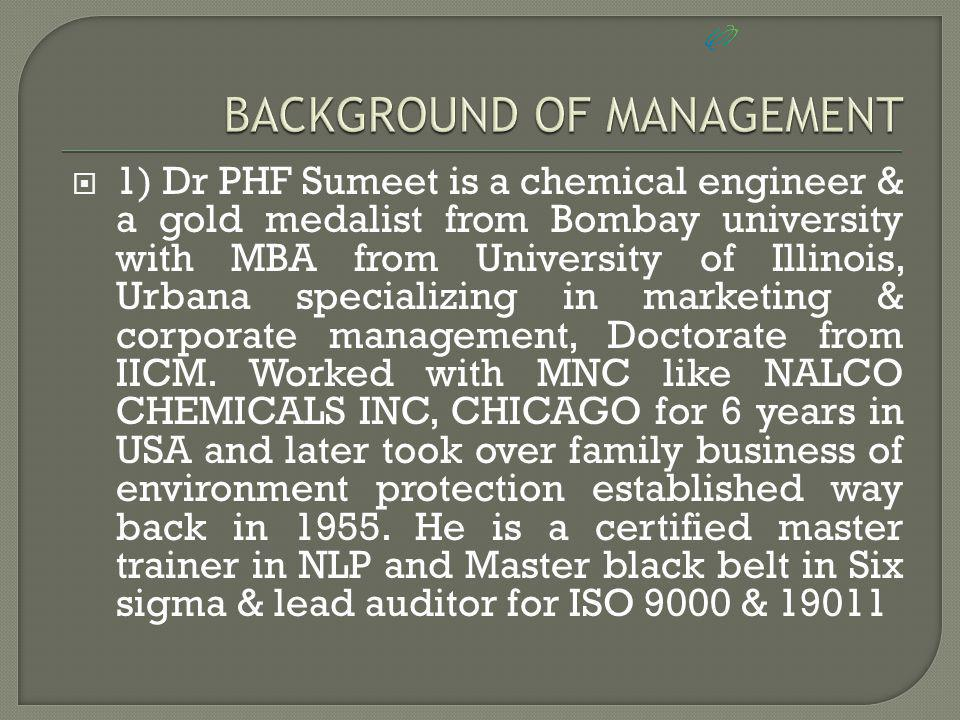  Dr PHF Sumeet has wide business experience of over 26 years and is well connected in global market, apart from being CEO of UTOPIA he is also director in various companies of his family business PANASIA GLOBAL Group of companies which is in health care, environment management, FMCG distribution, real estate, bio technology, GIS, IT/BPO, Mineral water plant,wellness industry having operations in 16 countries since 1955.