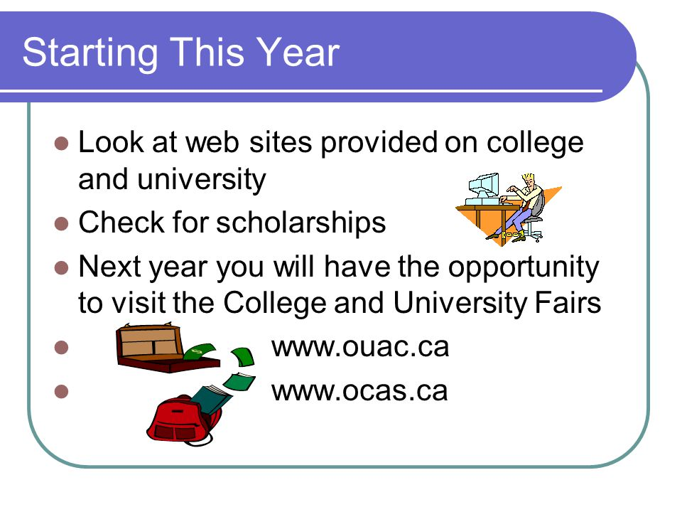 Co-op Option Students can take a 4 credit option or a 2 credit option At the same time students can start accumulating hours towards a possible future apprenticeship through the Ontario Youth Apprenticeship Program (OYAP)