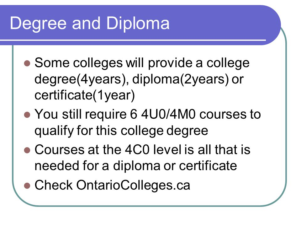 OTHER Remember your 40 hours of community service or you do not graduate Also make sure you are taking courses which will earn your high school diploma This means 30 credits where 18 are compulsory and 12 optional Important to look at your status sheet