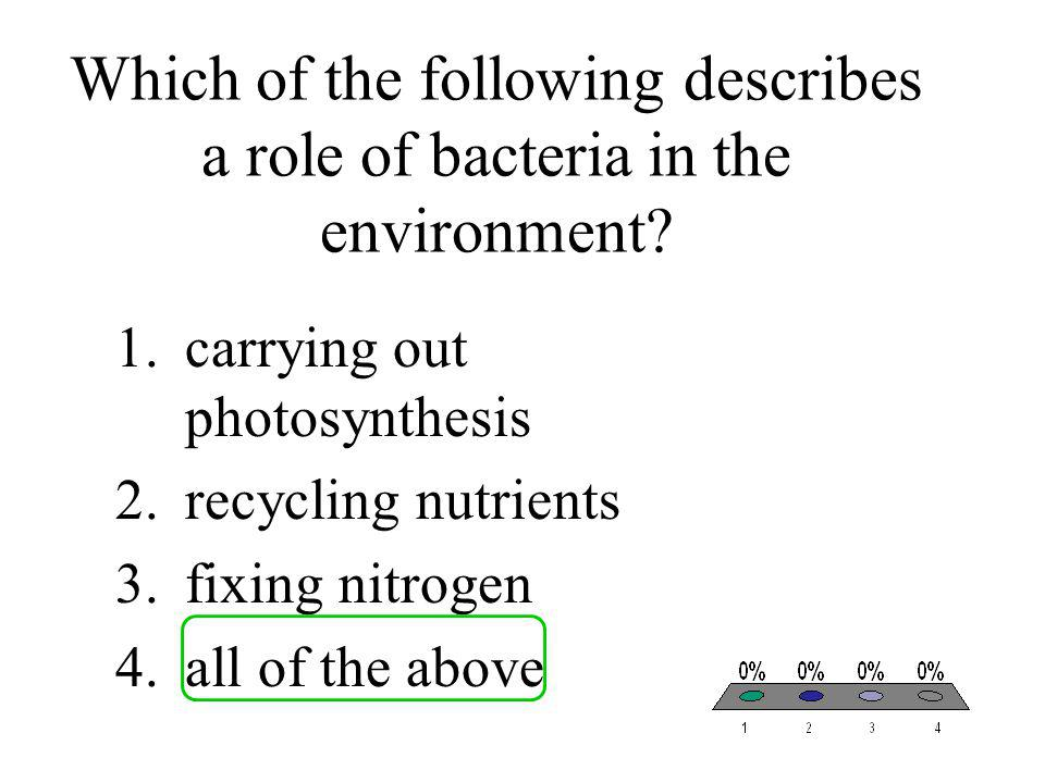Bacteria are sometimes called nature's recyclers because they 1.undergo conjugation.