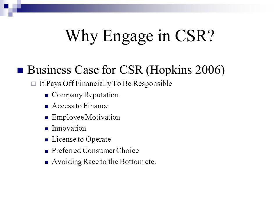 CSRD: Is It Magic.