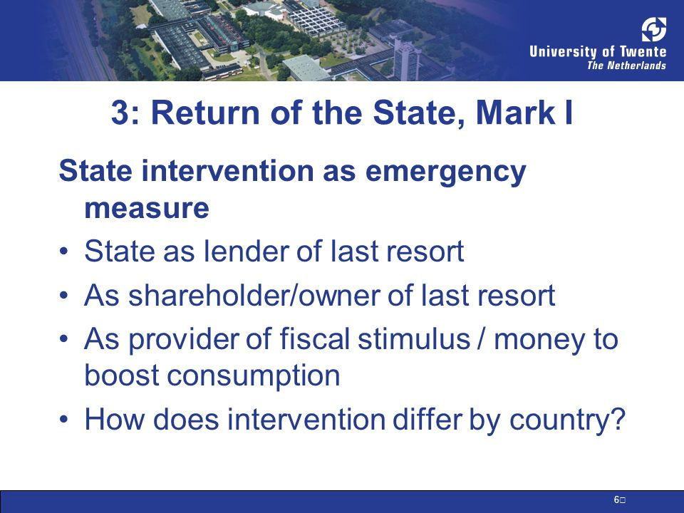 7 3: Return of the State, Mark I 2009 will be the year of unemployment –Already in recession –Orders down –Layoffs continuing –State role in unemployment insurance key