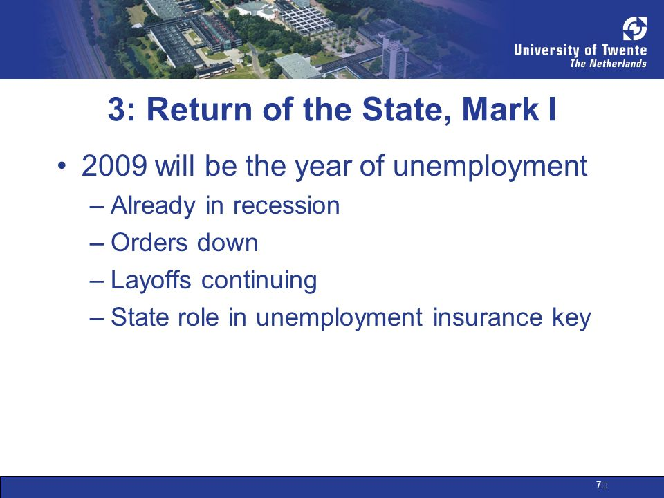 8 3: Return of the State, Mark I How to measure state involvement now.