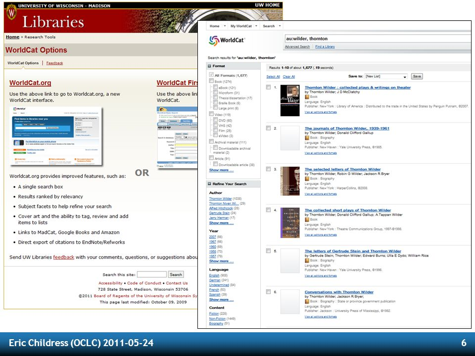 OCLC Membership Reports Timely reports on important topics