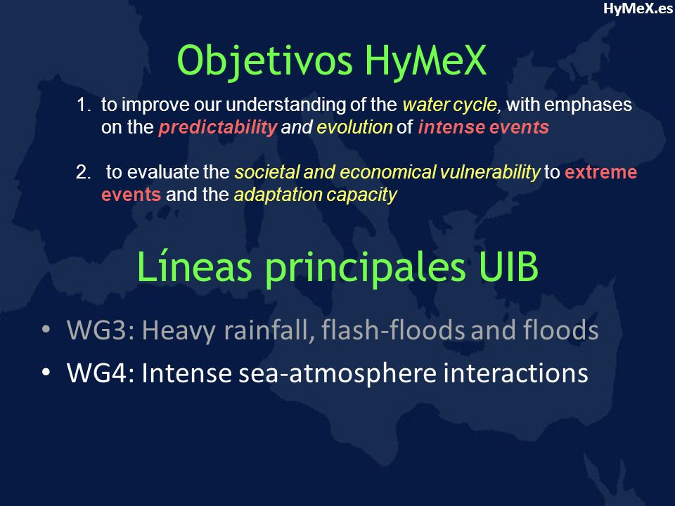 HyMeX.es WG4: Intense sea-atmosphere interactions Topic 4.1a-Local severe winds 10 Desembre 1996 29 Setembre 1983 16 Gener 1995 9 Octubre 1996