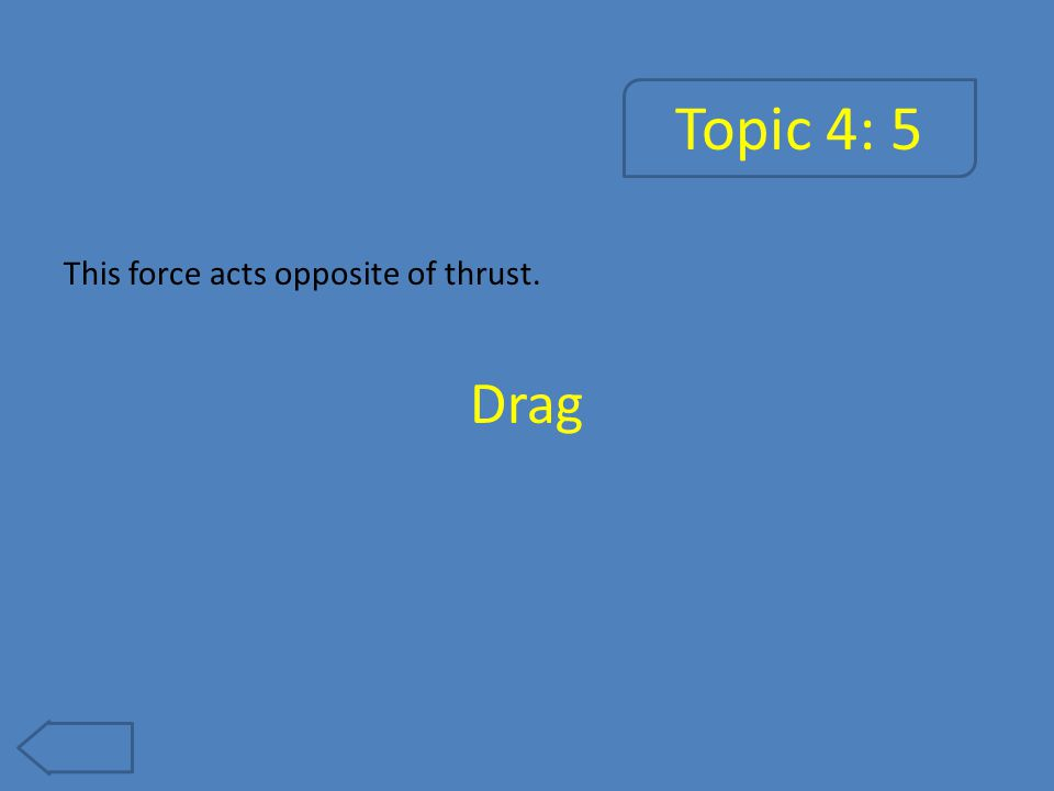 Topic 4: 10 This number is used to describe the ratio of an aircraft's speed to the speed of sound.