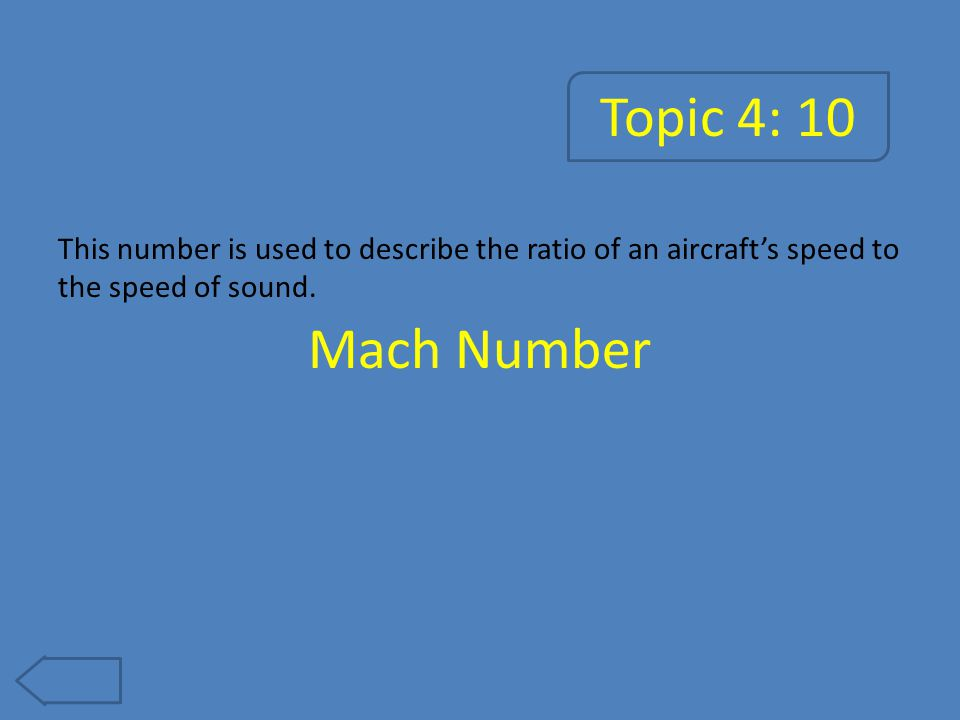 Topic 4: 15 This is the aircraft's motion about its y-axis. Pitch
