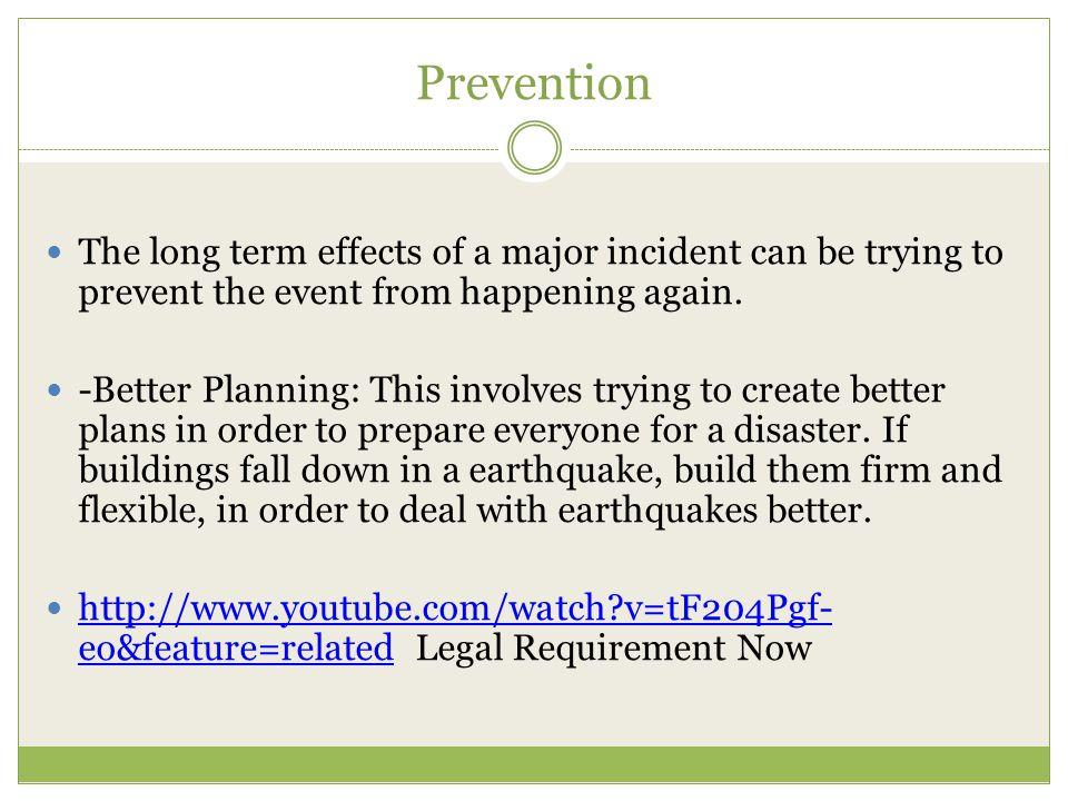 Prevention Preventing a Terrorist Attack http://www.youtube.com/watch?v=wMeCna2L4kY Preventing a disease outbreak: Ebola http://www.youtube.com/watch?v=GKIRVgsNd9A