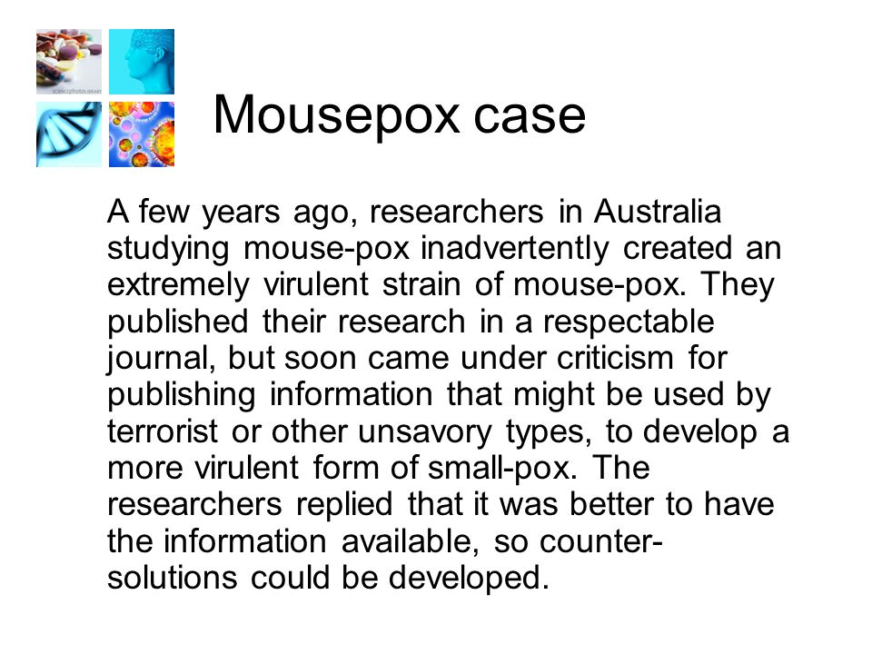 Question #5 Was it socially irresponsible for the researchers to have published this material.