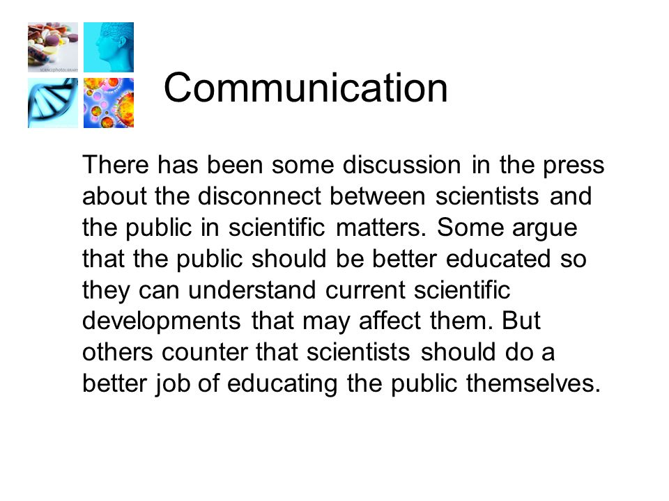 Question #6 How important is it for scientists/researchers to be able to effectively communicate to the general public about their research.