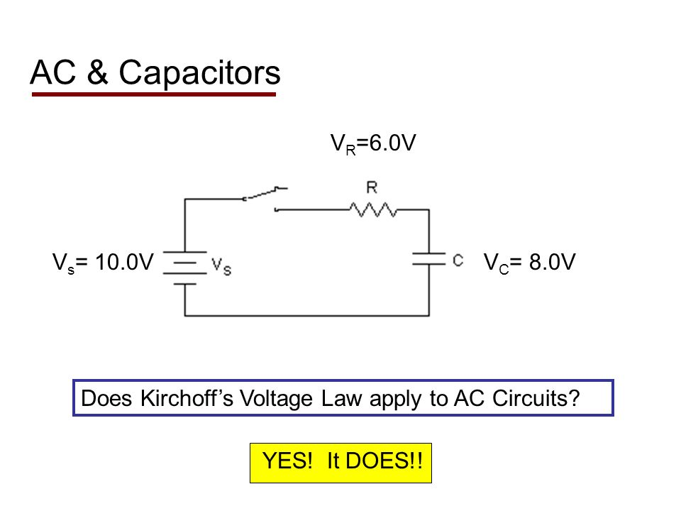 Consider the graphs of the voltages of the components :