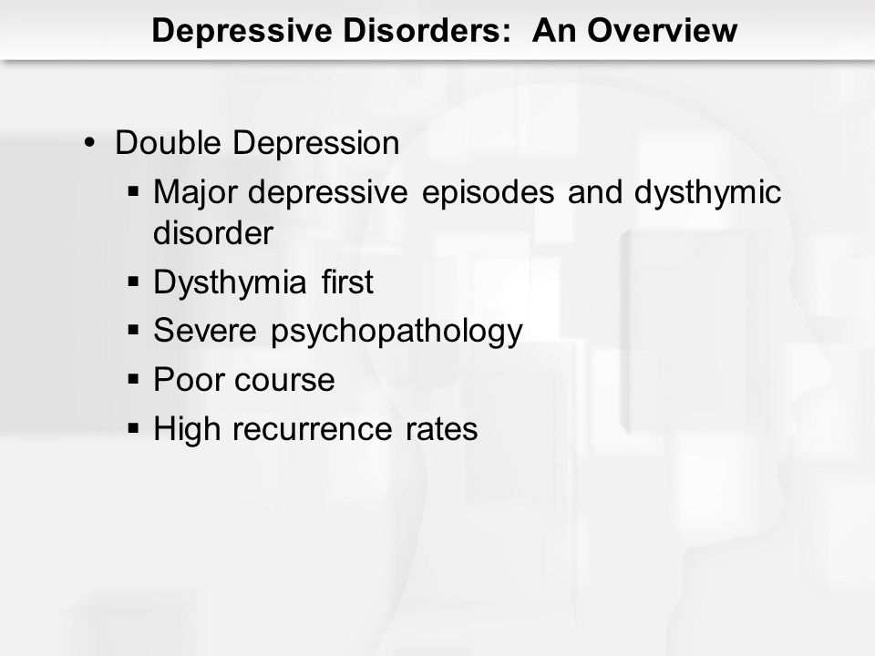 Depression frequently follows loss 62% after death Pathological or Complicated Grief Severity of symptoms Dysfunction Persistence of symptoms Grief and Depression