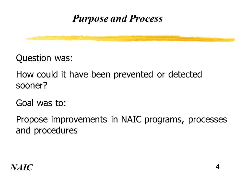 5 Completed Improvements vProcedure which questions turnover activity of company's portfolio vReference guidance for considering the results of the procedure vAdditional detailed procedures if concerns are raised including securities brokers' standing with the SEC NAIC NAIC Financial Analysis Handbook