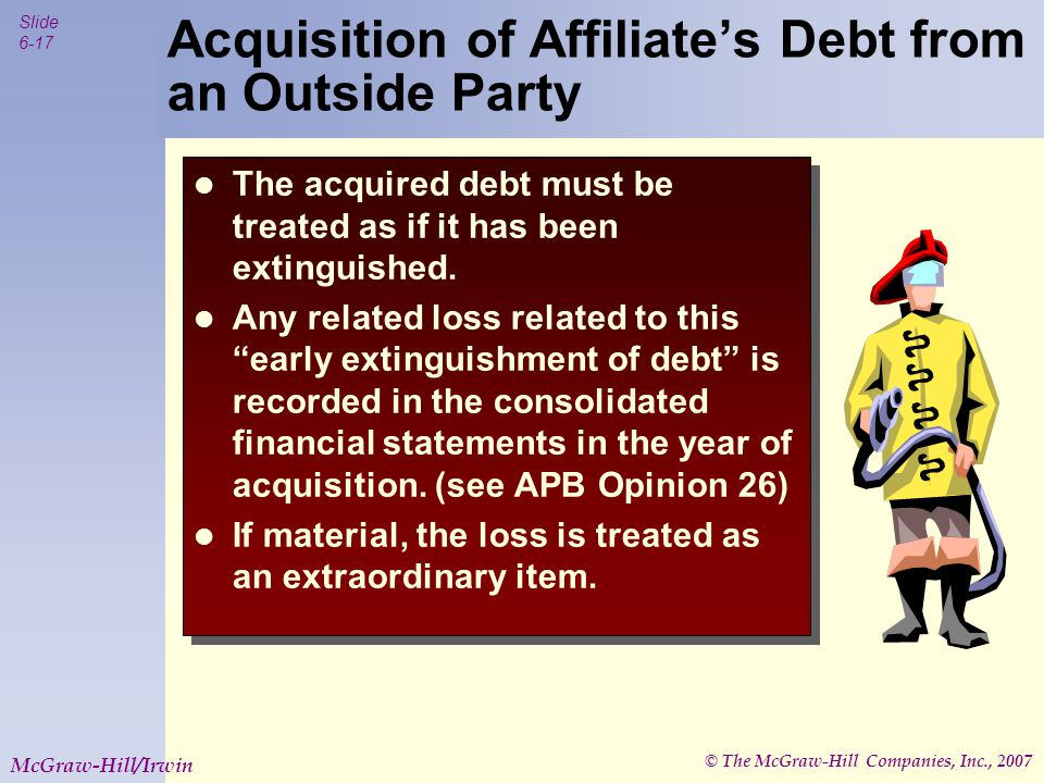 © The McGraw-Hill Companies, Inc., 2007 Slide 6-18 McGraw-Hill/Irwin Big owns 90% of Little.