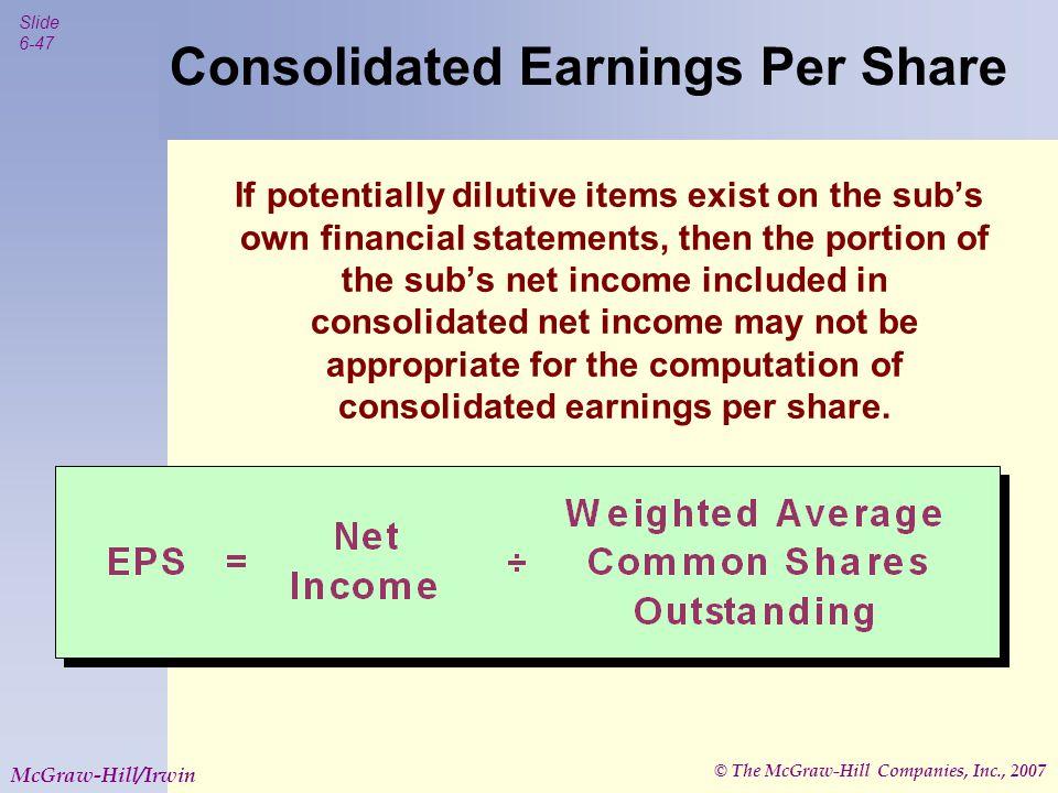 © The McGraw-Hill Companies, Inc., 2007 Slide 6-48 McGraw-Hill/Irwin .