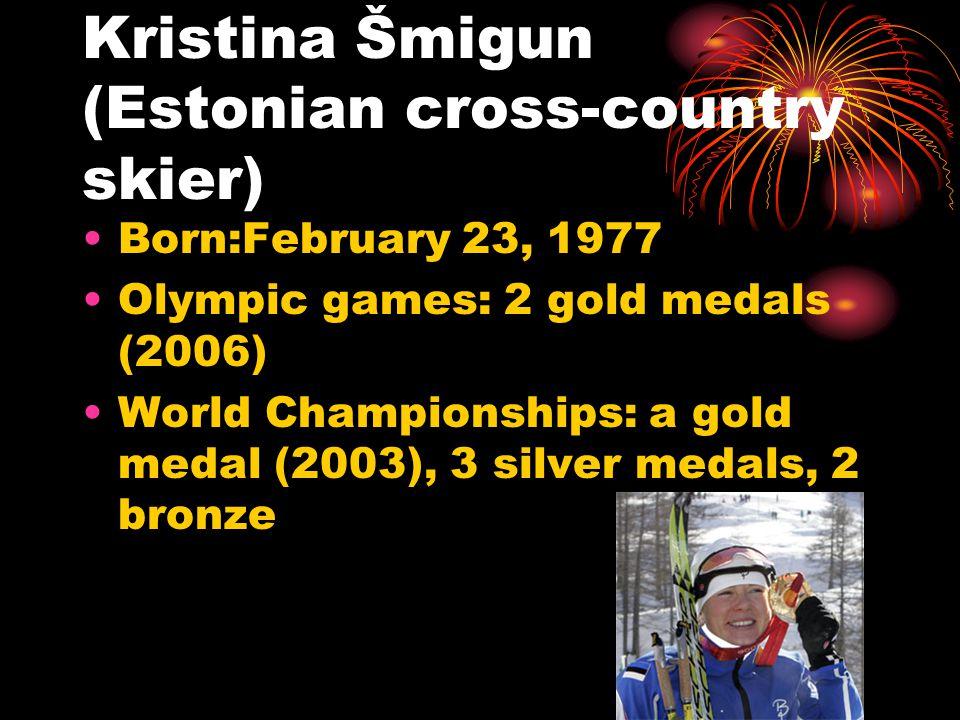 Tennis Kaia Kanepi Born:June 10, 1985 Career record: 160-91 Career titles: 0 WTA, 6 ITF Maret Ani Born: January 31, 1982 Career record: 217-167 Career titles: 1