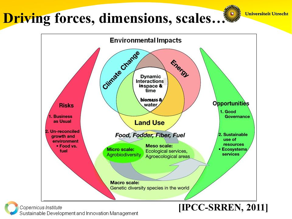 Copernicus Institute Sustainable Development and Innovation Management Good news on criteria frameworks and frontline of debate: Debate has come to it's senses a bit.