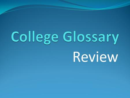 Review. DEGREES #1). Michael is attending Truman College. What type of degree is he pursuing?