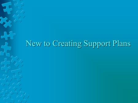 New to Creating Support Plans. Overview of this session Background information Interpreting the new reports Looking at your class/school How to develop.