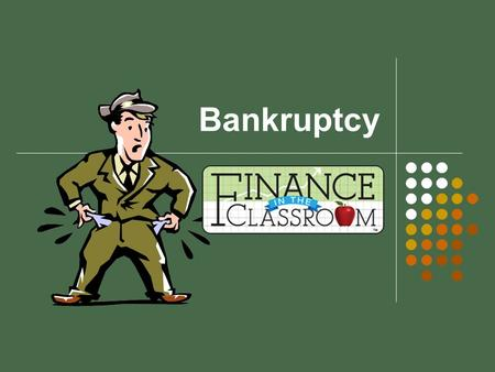 Bankruptcy. What is Bankruptcy? A federal court process that can help eliminate legal responsibility for debts or repay them over time under the protection.