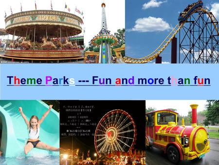 Www.themegallery.com Theme Parks --- Fun and more than fun.