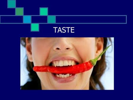 TASTE. The Sense of Taste  Taste buds are specialized receptors Widely scattered throughout the oral cavity  Most are on the tongue  Soft palate 