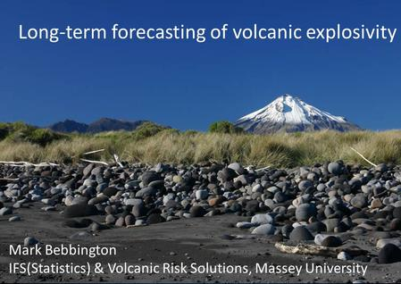 Long-term forecasting of volcanic explosivity