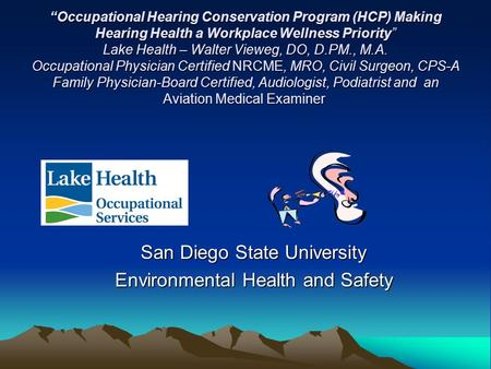 San Diego State University Environmental Health and Safety