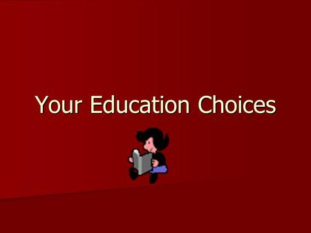 Your Education Choices. What is the difference between a college and a university? Usually offers a diploma or certificate Usually offers a diploma or.