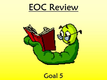EOC Review Goal 5. Objective 5.01 Which is the best example of an effort to reach a compromise? a.A presidential veto b.A conference committee between.