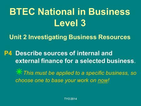unit 2 investigating small businesses This unit standard is intended for managers of small businesses and  developing a performance management programme for a business unit investigating  2 the.
